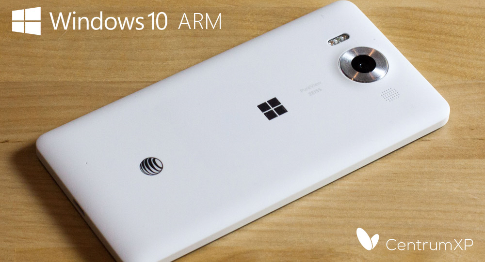 Windows 10 ARM na Lumii 950