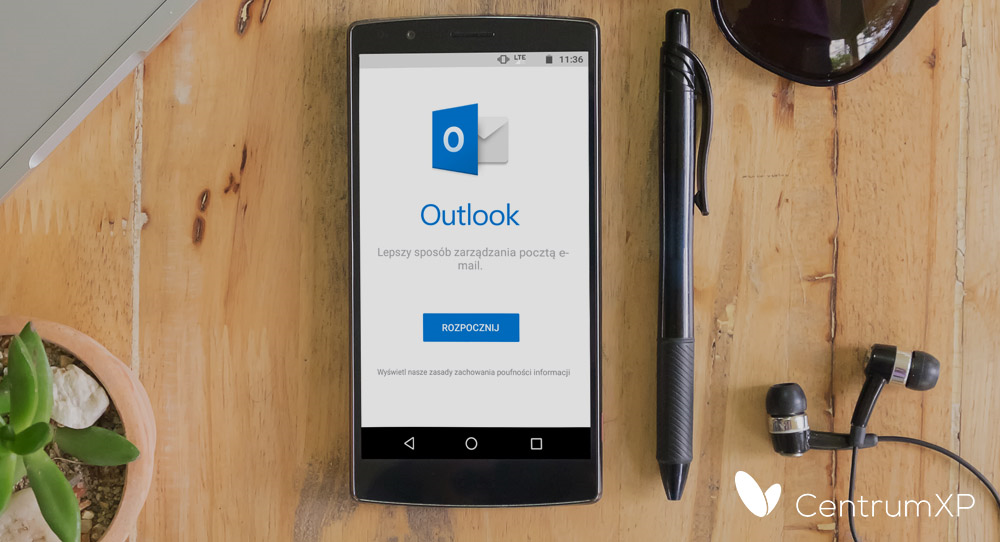 Outlook na Androida