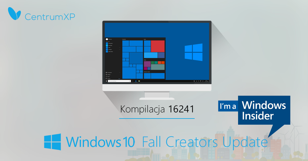 Windows 10 Insider Preview kompilacja 16241