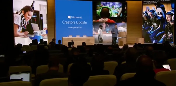 Windows 10 Creators Update event