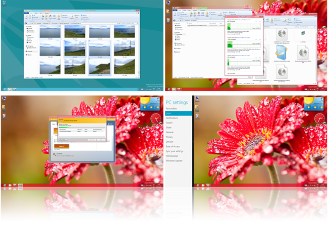 Aero UI w Windows 8