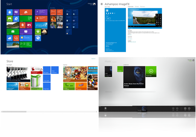 Metro App w Windows 8