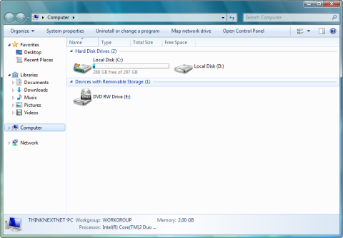 Komputer w Windows 7