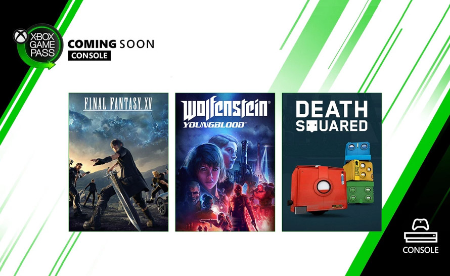 Final Fantasy XV, Wolfenstein: Youngblood i Death Squared zmierzają do Xbox Game Pass