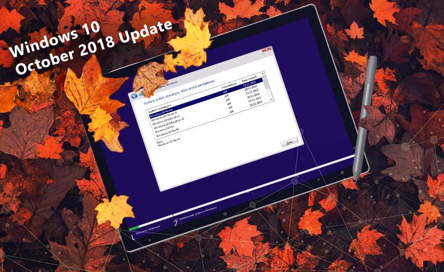 Jak zainstalować Windows 10 October 2018 Update