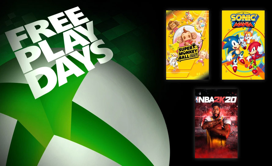 NBA 2K20, Sonic Mania i Super Monkey Ball za darmo w Xbox Live Gold i Game Pass Ultimate