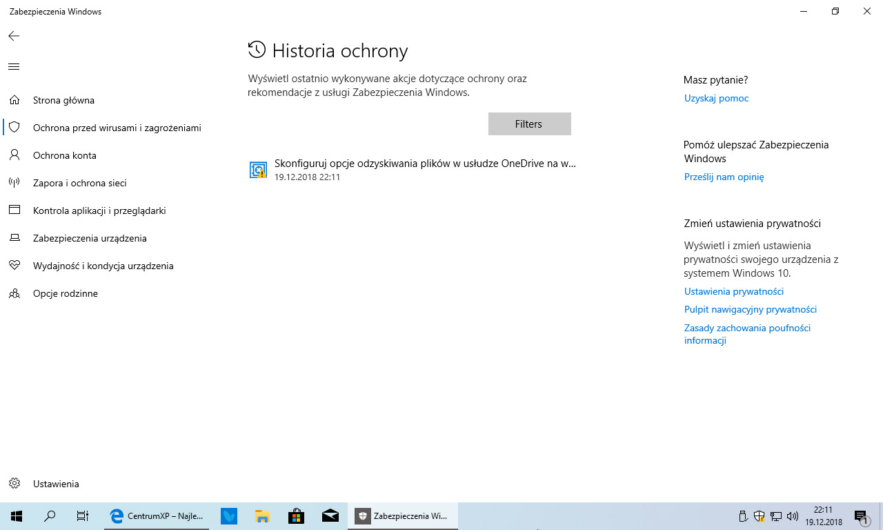 Windows 10 19H1 build 18305 - co nowego?