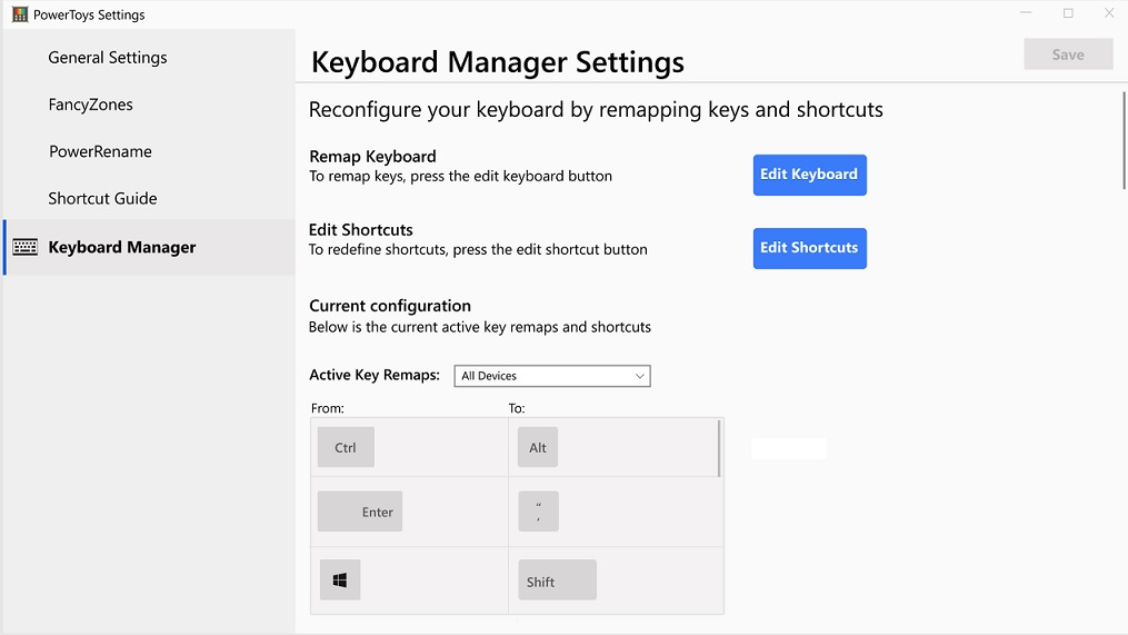 PowerToys-Keyboard-Manager