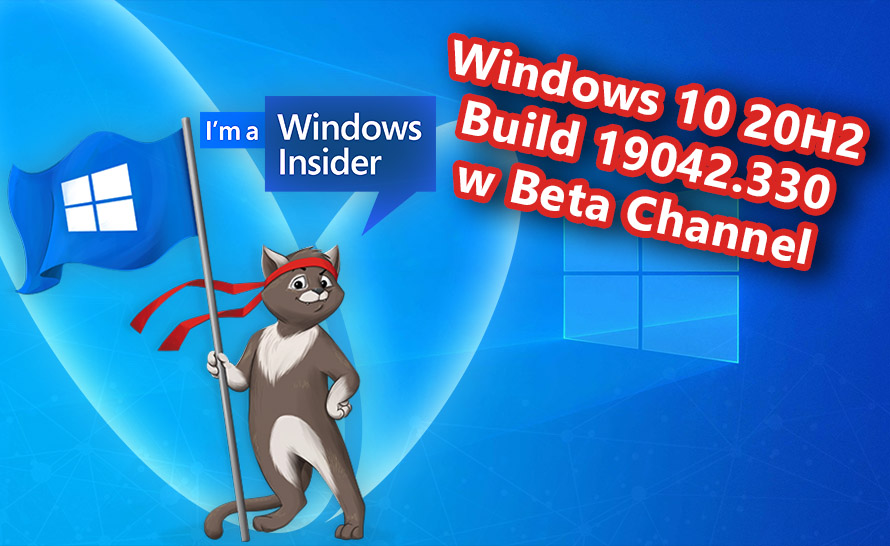 Windows 10 20H2 z pierwszym buildem w kanale Beta (19042.330)